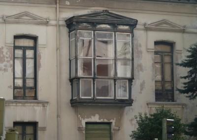 Detalle fachada